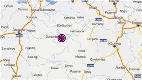 Balıkesir'de 3.3 büyüklüğünde deprem oldu!