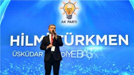 Hilmi Türkmen, Üsküdarlılara 41 projesini tanıttı