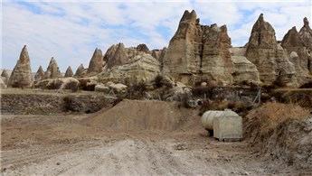 Kapadokya'da 2 haftada 27 kaçak yapı yıkıldı!