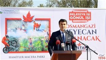 Bursa'ya Macera Park inşa ediliyor!