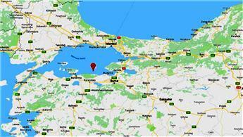 Marmara'da 4 büyüklüğünde deprem