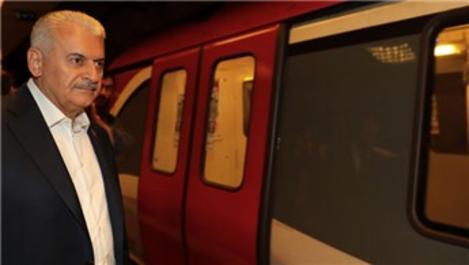 Binali Yıldırım: Tavşantepe'den Tuzla'ya metro gelecek