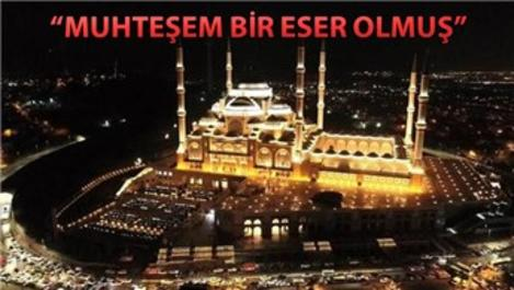Çamlıca Camisi'nde ilk ezan okundu!