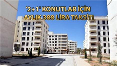 TOKİ'nin 50 bin konut projesinde başvuru şartları!