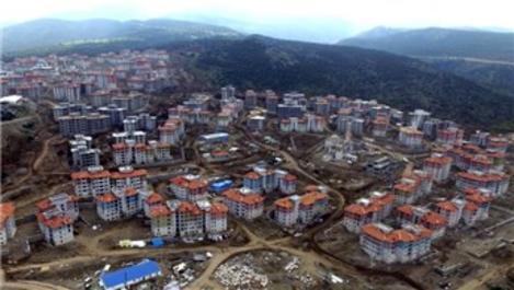 Akgedik Yunuskent'te hak sahiplerinin daireleri belirleniyor