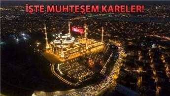 Çamlıca Camisi'nde Regaip Kandili kutlandı!
