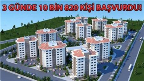 TOKİ'nin 50 bin konut projesine yoğun talep geldi!