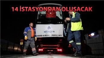 Eminönü-Alibeyköy tramvay hattı raylara indirildi