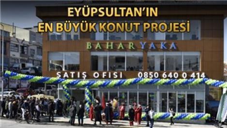 Baharyaka Eyüpsultan projesinin satış ofisi açıldı