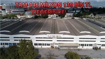 Uzel Makine'nin 93.5 dönümlük arazisi yeniden satışta!