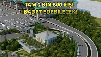 Sabiha Gökçen Havalimanı Camisi yıl sonunda açılıyor!