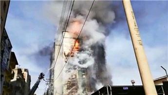 Trabzon'daki  Avrasya Üniversitesi'nde büyük yangın!