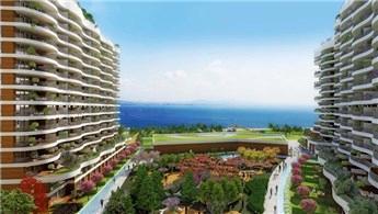 Blue Lake Küçükçekmece Kanal İstanbul'un yanı başında yükseliyor