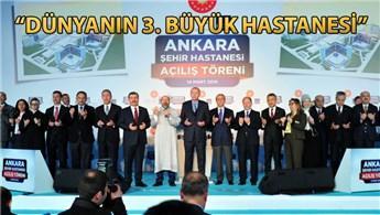 Cumhurbaşkanı Erdoğan Bilkent Şehir Hastanesi'ni açtı