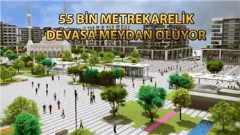 Bağcılar Meydanı İstanbul'un en büyüklerinden olacak