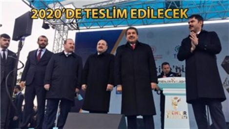 Esenler'de 531 konutun temel atma töreni yapıldı