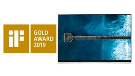 LG OLED TV'ye üstün tasarım ödülü!