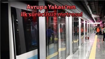 Mecidiyeköy-Mahmutbey hattında test sürüşü başladı