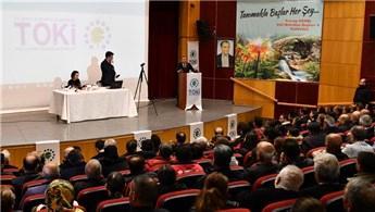 Tunceli'de TOKİ'nin yaptığı 206 konut yapılan kura çekimi yapıldı