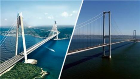 Yavuz Sultan Selim Köprüsü ile Osmangazi Köprüsü bağlanıyor