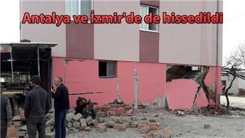 Denizli'de 5.5 büyüklüğünde deprem oldu!