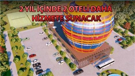 Niziplioğlu, Kapadokya'da balon şeklinde otel yapacak
