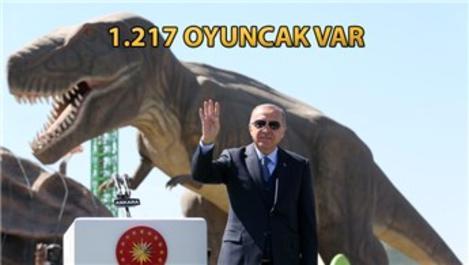 Cumhurbaşkanı Erdoğan, Ankapark'ın açılışını yaptı