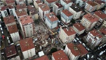 Kartal'da çöken bina soruşturmasında bilirkişi raporu tamamlandı