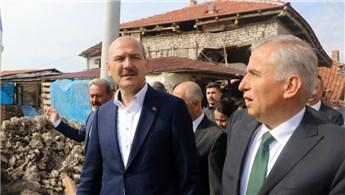 Bakan Soylu'dan Denizli'deki depremzedelere müjde!