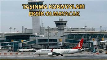 Atatürk ve İstanbul Havalimanı 12 saat uçuş yapmayacak