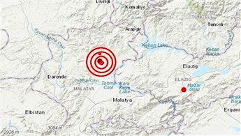 Malatya'da art arda iki deprem!