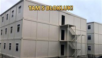 Vekon, Galataport'un işçi yatakhane binalarını üretiyor