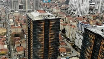24 katlı 1071 Kadıköy projesinde yangın çıktı