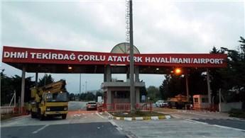Çorlu Havalimanı'nın yeni adı 'Çorlu Atatürk Havalimanı' oldu