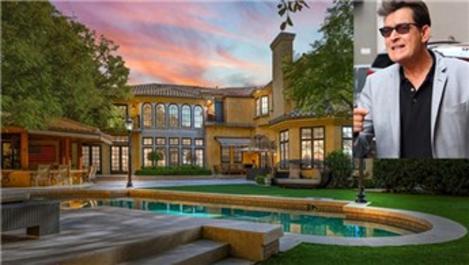 Charlie Sheen, alıcı çıkmayan evini 8 milyon dolara satıyor