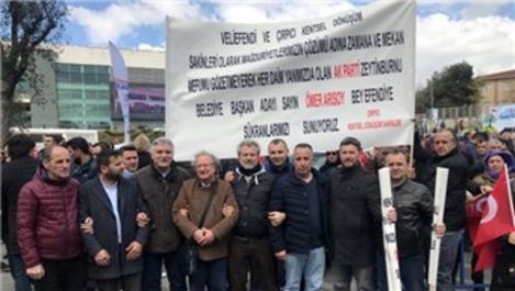 Çırpıcı Kentsel Dönüşüm mağdurlarından Bakan Kurum'a teşekkür!