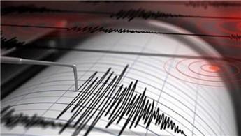 Denizli'de 4.5 büyüklüğünde deprem