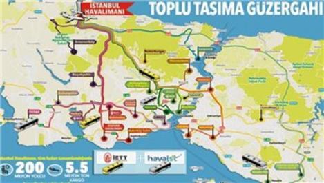 İşte İstanbul Havalimanı'na ulaşım rehberi!