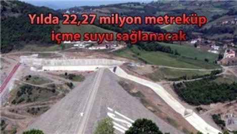 19 Mayıs Dağköy Barajı inşaatının sonuna gelindi