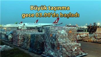 Atatürk Havalimanı taşınma işlemleri devam ediyor