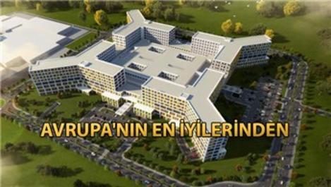 Bursa Şehir Hastanesi'nin yüzde 94'ü tamamlandı