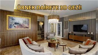 Alya Grandis'in örnek dairesini 3 boyutlu görüntüledik