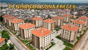 TOKİ'nin sosyal konutları için 621 bin başvuru yapıldı