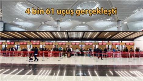 İstanbul Havalimanı'nı 5 günde 634 bin yolcu kullandı