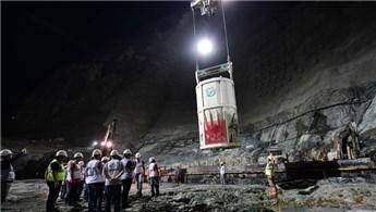 Yusufeli Barajı'nda 85 metre gövde yüksekliğine ulaşıldı