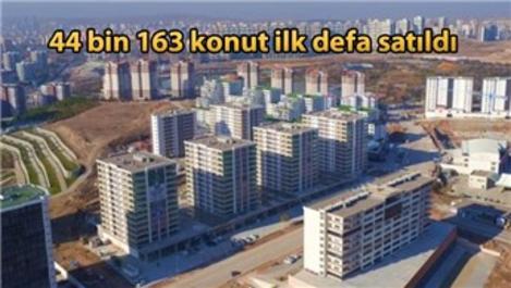 Türkiye'de mart ayında 105 bin 46 konut satıldı