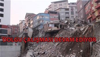 Kağıthane'de 5 katlı binanın yıkımı tamamlandı