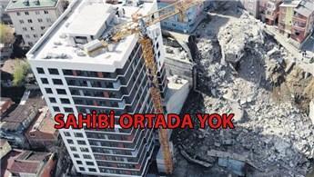 Kağıthane'de çöken binanın altından İVA Yapı çıktı