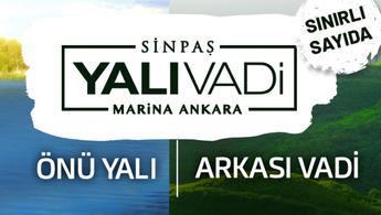 Sinpaş, Ankara'da yalı keyfi sürmek isteyenleri bekliyor
