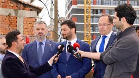 Mevlüt Öztekin,'24 binanın yıkım kararı alındı'